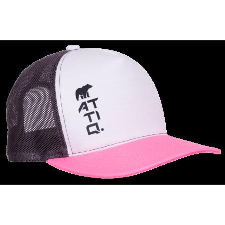 TITANIUM TRUCKER CAP PINK