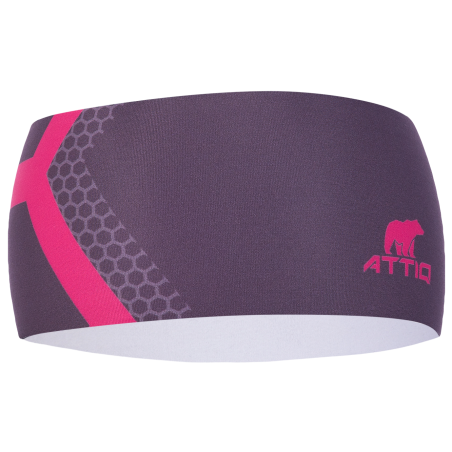 HEADBAND THERMO VERTICAL PINK